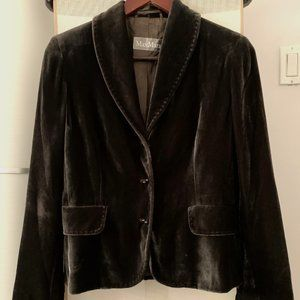 Max Mara Vintage Velvet Jacket